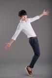 диаграмма человек 3 красивейшего танцы 3d габаритная иллюстрации очень Стоковые Фотографии RF