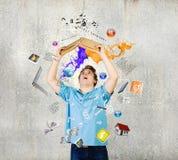 диаграмма человек 3 красивейшей книги 3d габаритная иллюстрации очень Стоковые Изображения