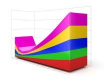 диаграмма 3d (включенный путь клиппирования) Бесплатная Иллюстрация