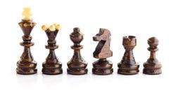 диаграммы высокое изображение шахмат черноты предпосылки 3d представляют разрешение Стоковые Изображения RF