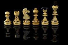 диаграммы высокое изображение шахмат черноты предпосылки 3d представляют разрешение Стоковое Фото