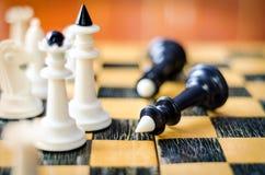 диаграммы высокое изображение шахмат черноты предпосылки 3d представляют разрешение Стоковые Изображения