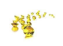 диаманты серебр ювелирных изделий золота ткани предпосылки черный Стоковое Изображение