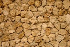 ливанская стена уроженца известняка Стоковые Изображения RF