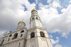 Иван большая колокольня в Кремле moscow Россия Стоковые Фото