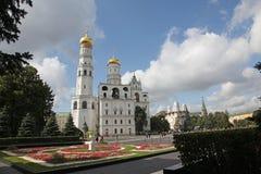 Иван большая колокольня в Кремле moscow Россия Стоковая Фотография
