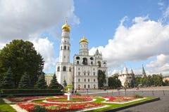 Иван большая колокольня в Кремле moscow Россия Стоковое фото RF