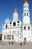 Иван большая колокольня колокола стоковое изображение
