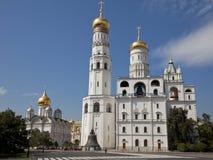 Иван большая колокольня, Москва Кремль, Россия. стоковое изображение