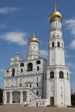 Иван большая колокольня Москвы Кремля стоковое фото