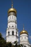 Иван большая колокольня Москвы Кремля стоковое изображение rf