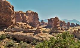Иглы Canyonlands Стоковые Фотографии RF