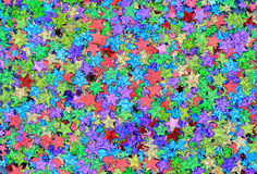 Играет главные роли confetti иллюстрация вектора