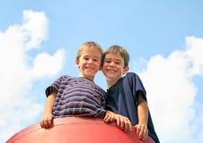 Играть братьев Стоковое Фото