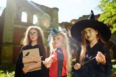 Играть ведьм Стоковая Фотография RF