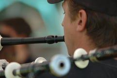 играть волынок Стоковая Фотография RF