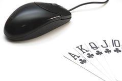 играть в азартные игры он-лайн Стоковое Изображение RF