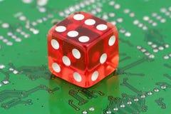 играть в азартные игры он-лайн Стоковая Фотография RF