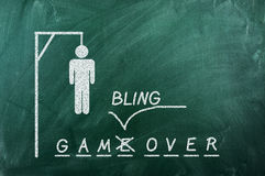 Играть в азартные игры сверх Стоковое фото RF