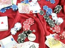 играть в азартные игры Стоковая Фотография RF