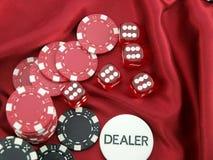 играть в азартные игры Стоковое Фото