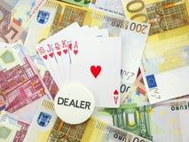 играть в азартные игры Стоковые Изображения