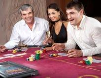 играть в азартные игры Стоковая Фотография