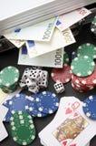 играть в азартные игры Стоковые Фотографии RF