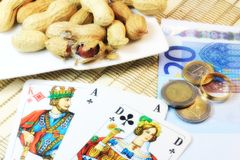 играть в азартные игры Стоковое Изображение RF