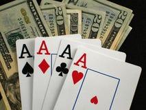 играть в азартные игры Стоковое фото RF