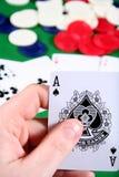 играть в азартные игры Стоковые Изображения RF
