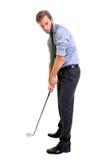 Играть в гольф стоковые изображения