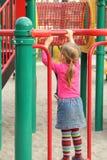 Играть в парке Стоковые Фото