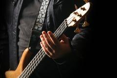 играть гитариста гитары Стоковое Изображение RF