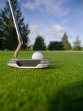 играть гольфа Стоковое Фото