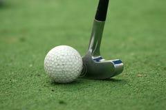 играть гольфа Стоковое Изображение RF