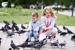 Играть детей Стоковые Изображения RF