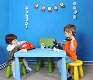 играть детей Стоковое Фото