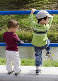 Играть детей Стоковое фото RF