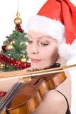 играть женщину альта Стоковые Фотографии RF