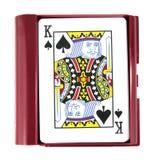 играть карточек коробки Стоковые Фото