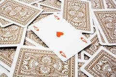 играть карточек предпосылки Стоковое Изображение RF