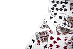играть карточек предпосылки стоковые фотографии rf