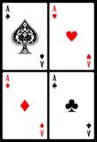 играть карточек Стоковая Фотография RF