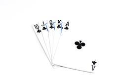 играть карточек Стоковые Изображения