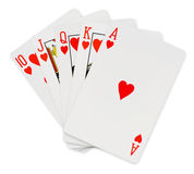 играть карточек Стоковые Фотографии RF