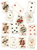 играть карточек Стоковые Фото