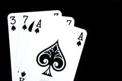 играть карточек Стоковые Изображения RF