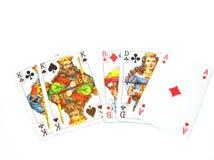 играть карточек Стоковое Фото