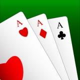 играть карточек Стоковое Изображение RF